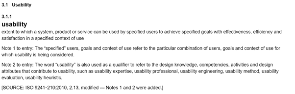 userbility